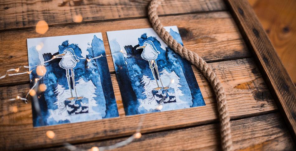 Maritime_Weihnachtskarte_Hahn_ueber_Bord