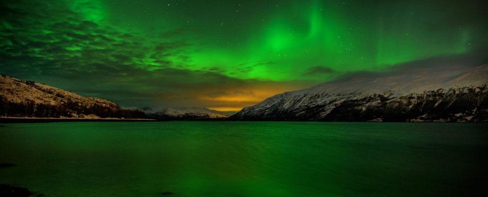 Auroras Boreales en Tromso y Helsinki