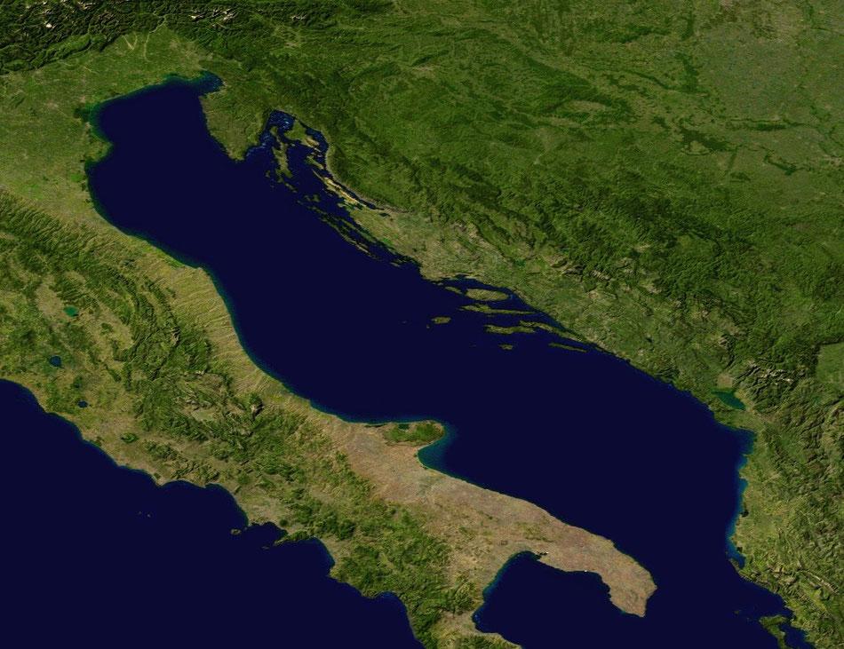 Del Mediterráneo al Adriático