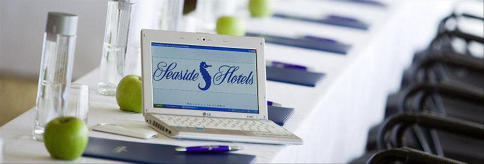 Tagungen in Seaside-Hotels organisieren wir für Sie - kompetent und sicher.