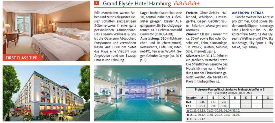 Hotels in Hamburg inkl. Bahnanreise oder mit Mietwagen buchen...