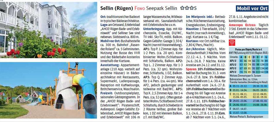 Sellin Rügen bei Singer Reisen & Vversicherungen preiswert buchen...
