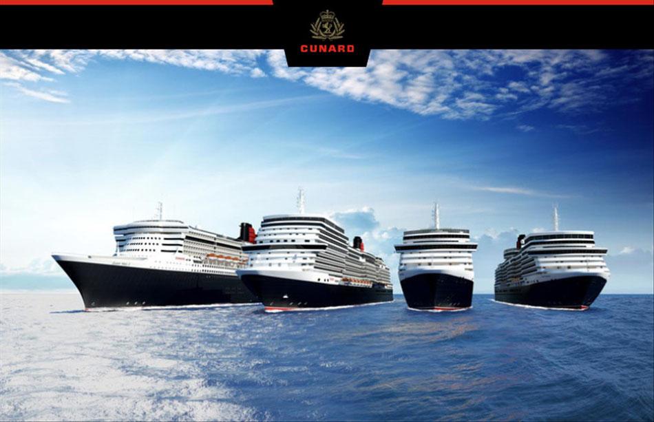 Cunard & Singer Reisen+Versicherungen Kreuzfahrten Weltreisen jetzt  für das nächste Jahr buchen...
