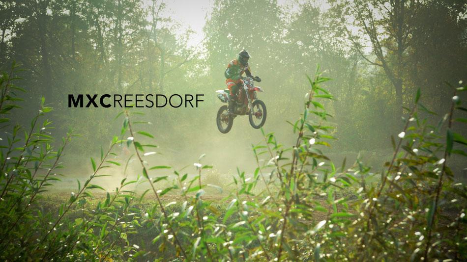 Motocrossfahren Reesdorf, Deutschland