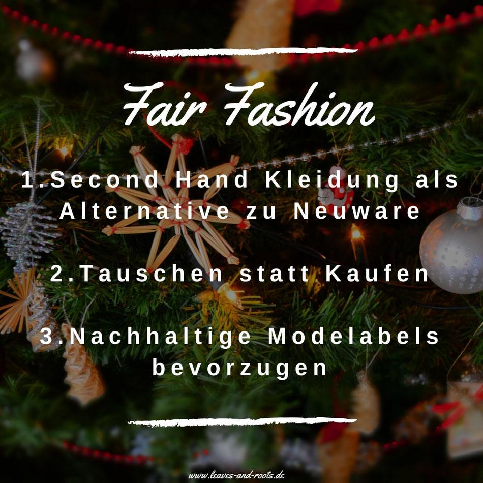 Fair Fashion, Nachhaltig Shoppen