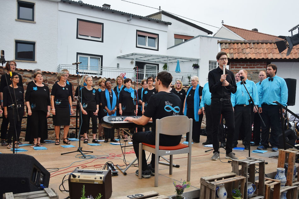 "Pop-, Jazz- und Gospelchor ""Blue Notes"" Rüdesheim/Nahe"