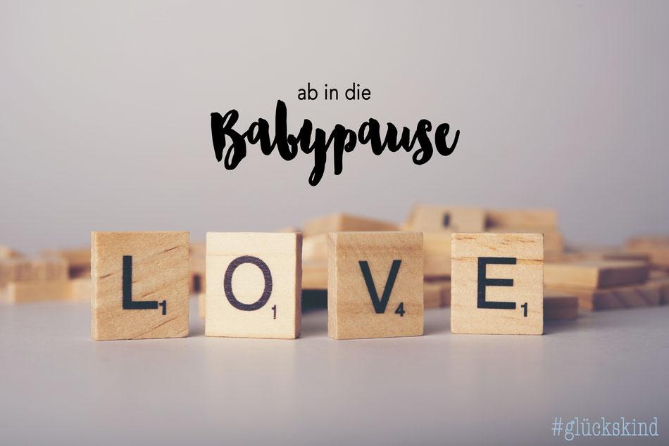 Glückskind Ab In Die Babypause Céline Claire Designs