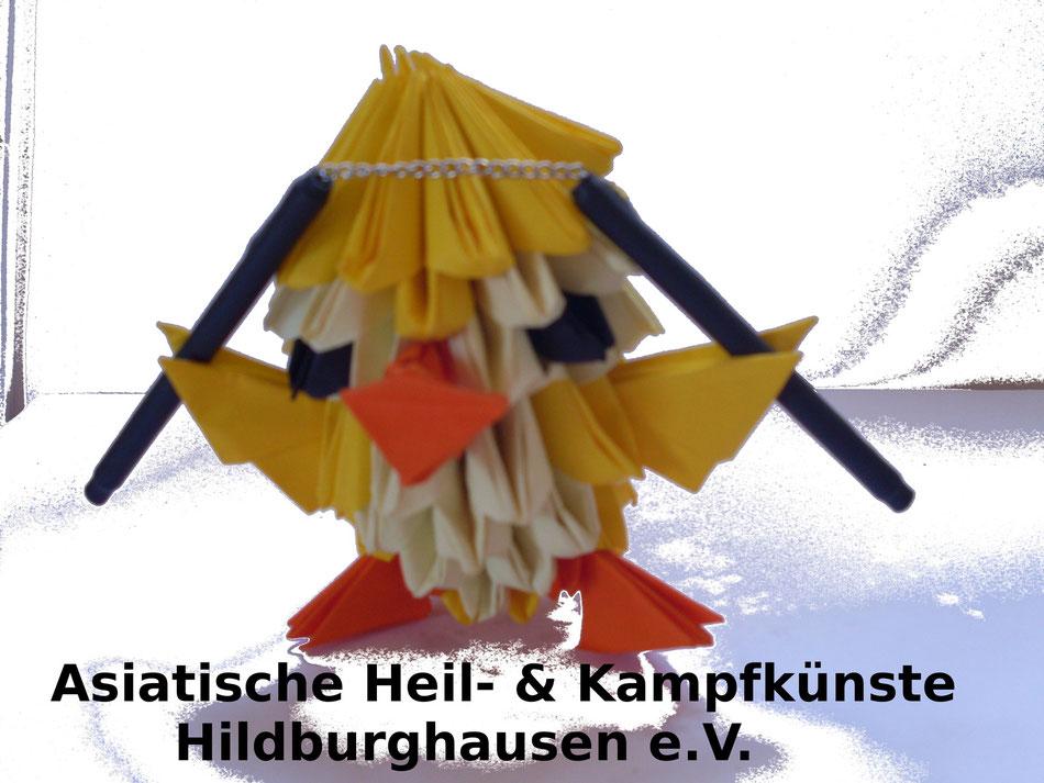 Kung Fu Küken Logo 13 von Lars Lauterbach