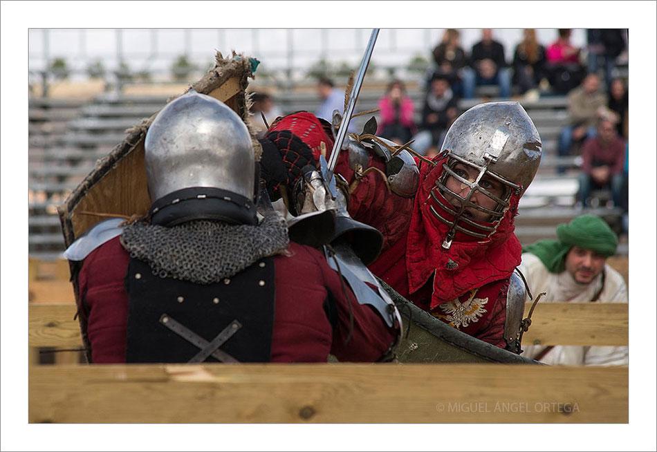 "Belmonte, ""combate medieval"""