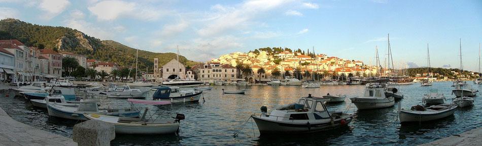 Charter Yacht Dalmatien - Stadt Hvar