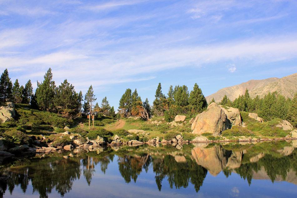 La beauté des lacs des Bouillouses