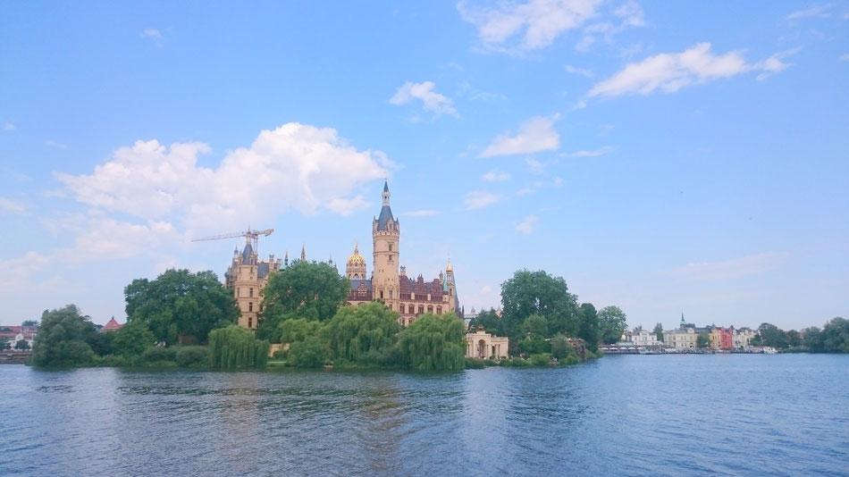 Schloss von der Seeseite