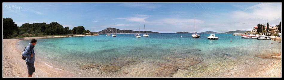otok prvic, croatie, sibenik,lupac.