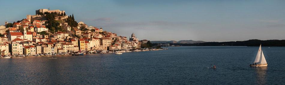 Croatie, mer, Sibenik, mer adriatique, Hrvatska