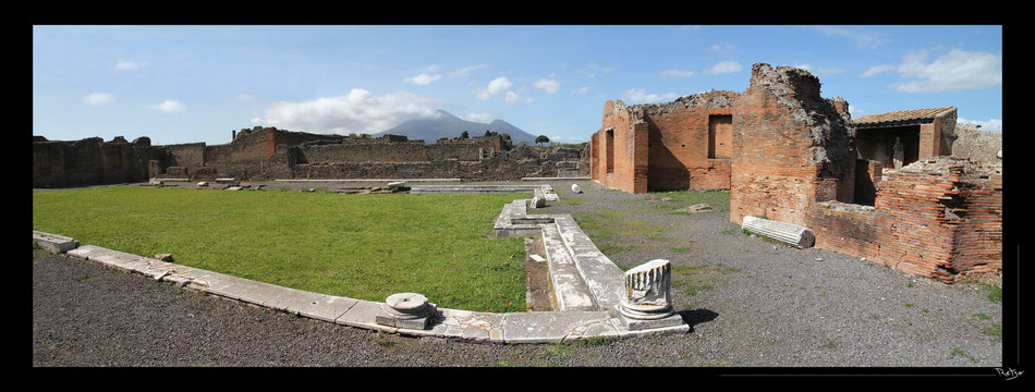 Pompei, Italie, Vesuve, volcan