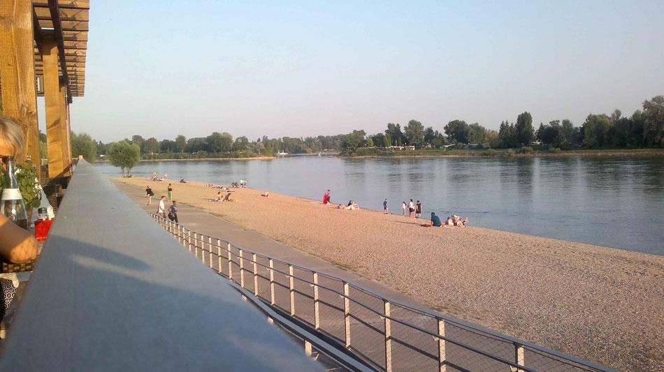 Klassiker in der Region: Das Strandbad in Mannheim-Neckarau.