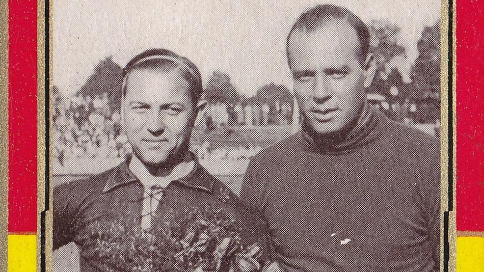 Richard Hofmann und Ricardo Zamorra im DSC-Stadion