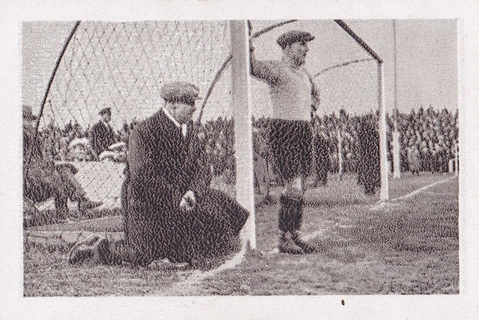 Trainer Jimmy Hogan und Georg Richter