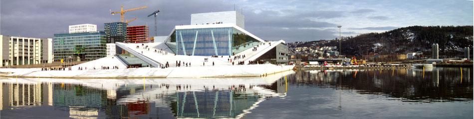 Imagen 3d vs foto. Oslo