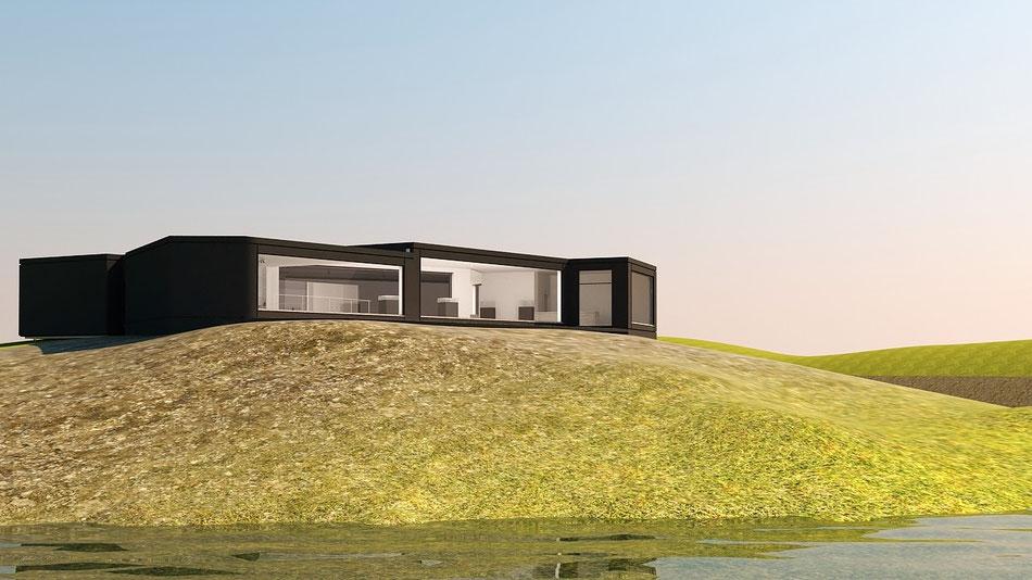 Terreno arquitectura 3D