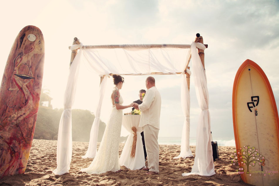 RIncon, Puerto Rico beach wedding