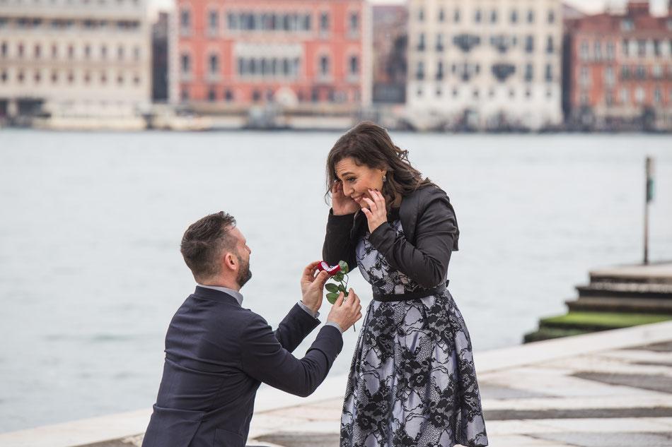 proposta a sorpresa venezia