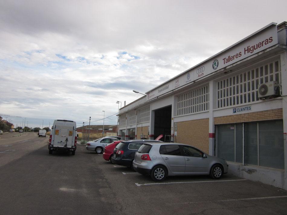Instalaciones Talleres Higueras García (Alagón)