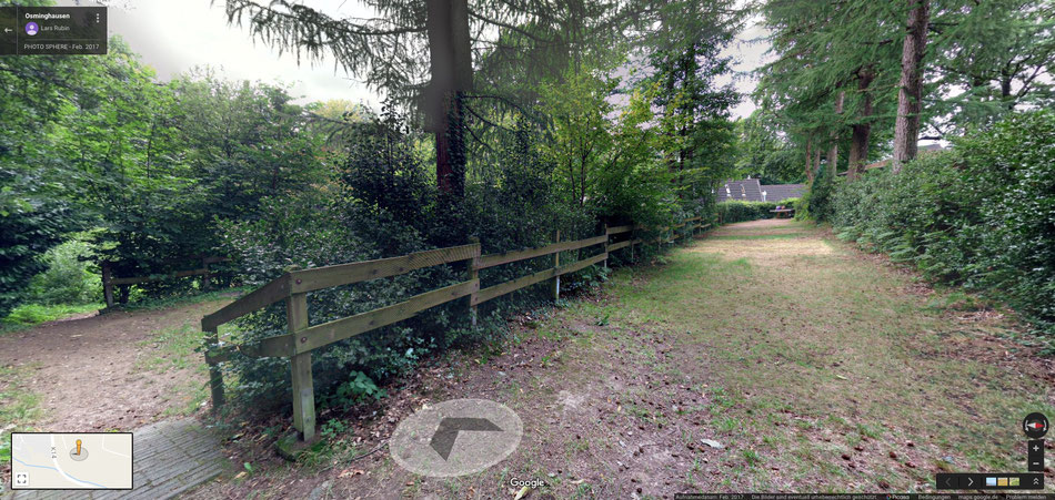 360° Panorama Rundgang in Google Street View