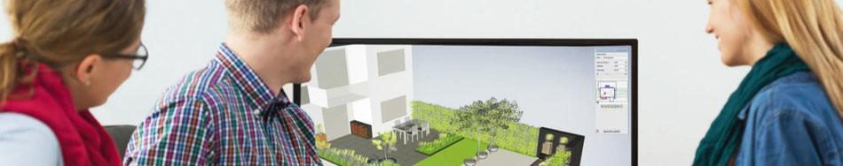 3D Gartenvisualisierung und 3D Visualisierung des Gartens