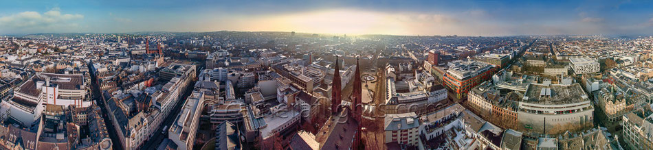 360 Grad Panorama in Wiesbaden