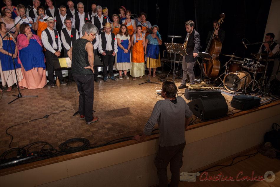 Pablo Jarraute, régisseur son & lumière. Les Choraleurs, Carmen in Swing, Fargues-Saint-Hilaire