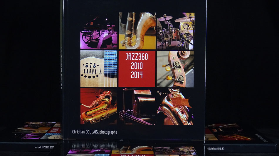 Livre-photos JAZZ360 Retrospective 2010-2014, Edition Grand Luxe 30x30cm