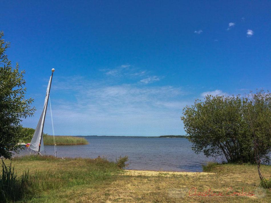 7 juillet 2016, Lac de Sanguinet, Landes