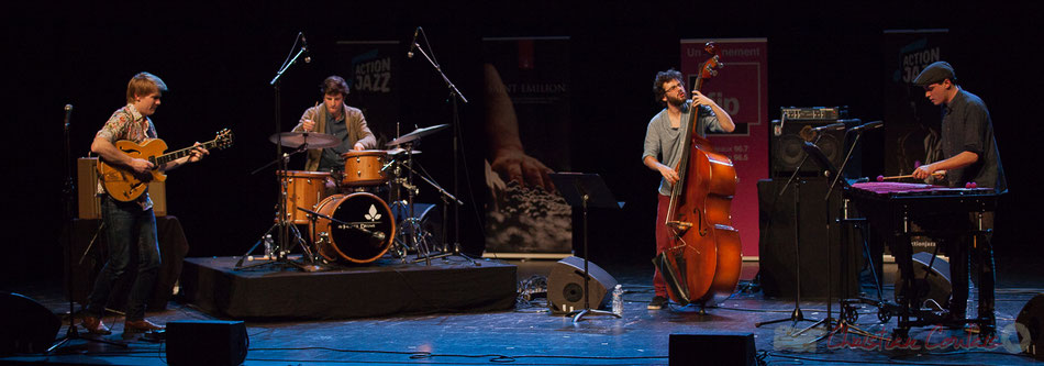 Capucine, Grand Prix du Jury Action Jazz 2017, Thomas Gaucher : guitare; Thomas Galvan : batterie; Louis Laville : contrebasse; Félix Robin : vibraphone