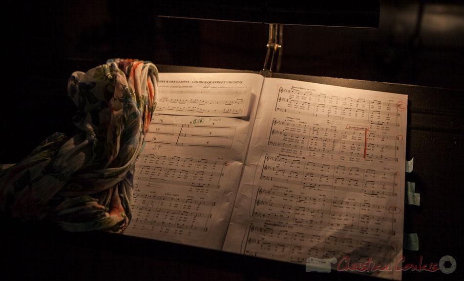 Carmen in Swing, adaptation  de Pierre-Gérard Verny, cheffe de cœur : Natahlie Aubin. Cénac