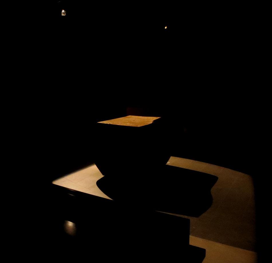 Lichtgedeckter Altar - Illumination Gregor Linßen, 2015