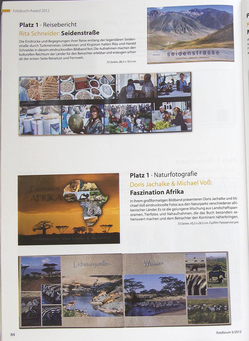 Fotobuch Seidenstraße Fotozeitschrift Fotoforum