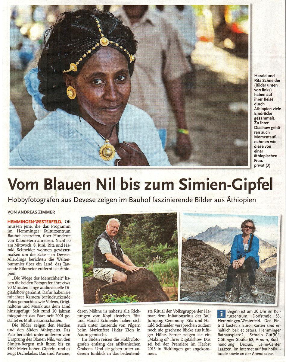 HAZ Äthiopien Stadthaus Laatzen