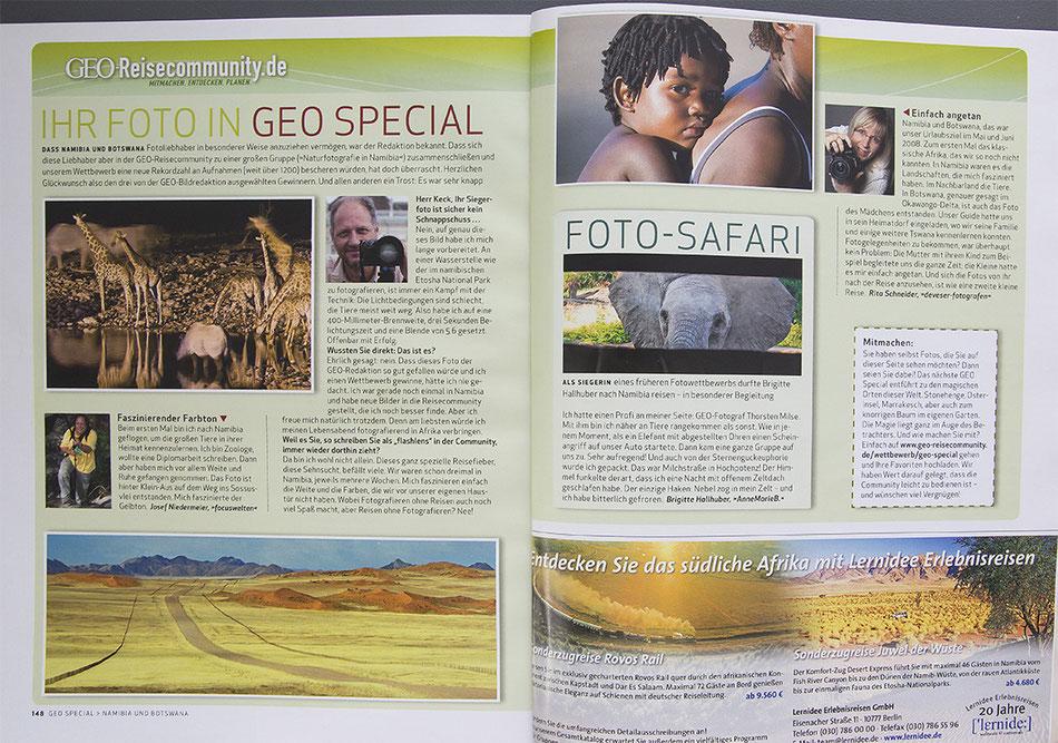 Geo Spezialheft Namibia und Botswana