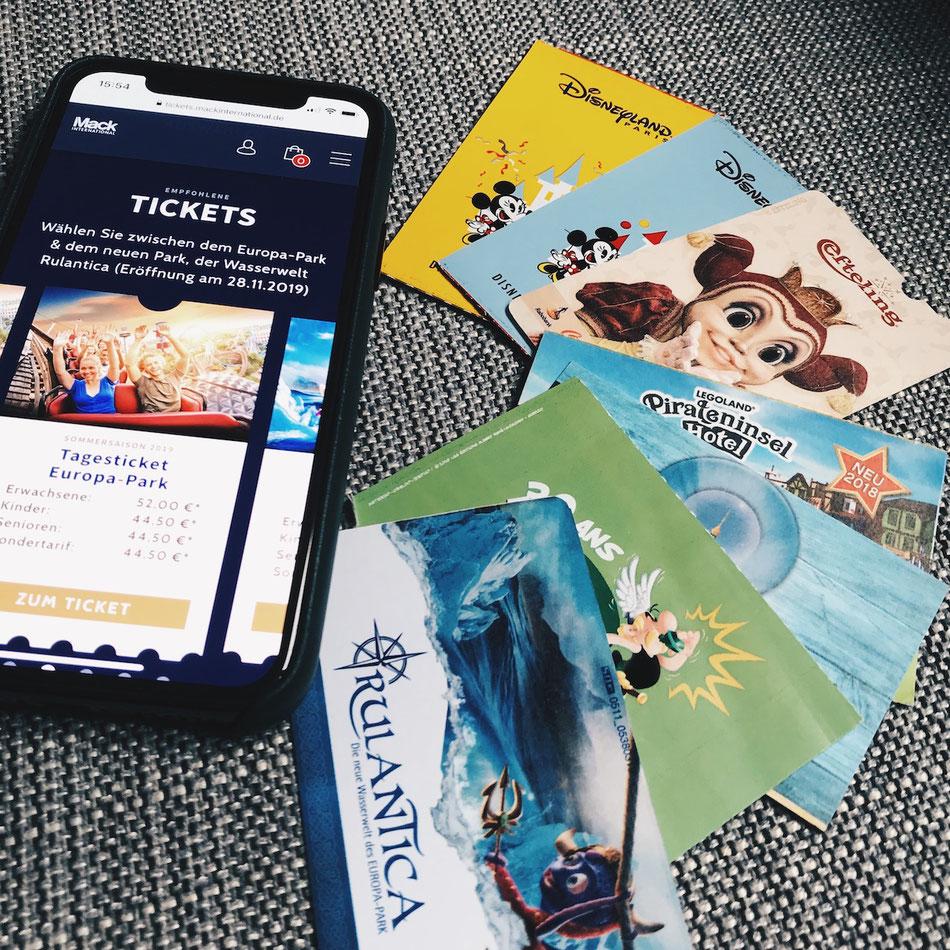 Freizeitpark Tickets gewinnen