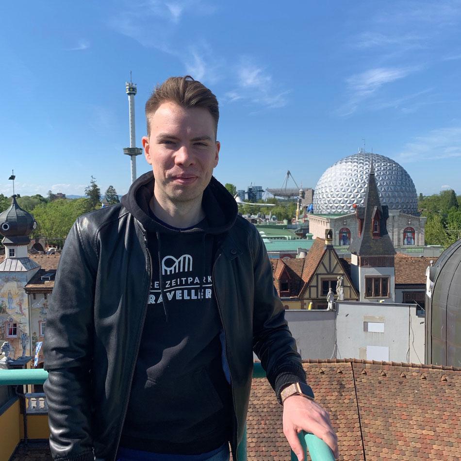 Ein perfekter Ausblick über die Dächer vom Europa-Park