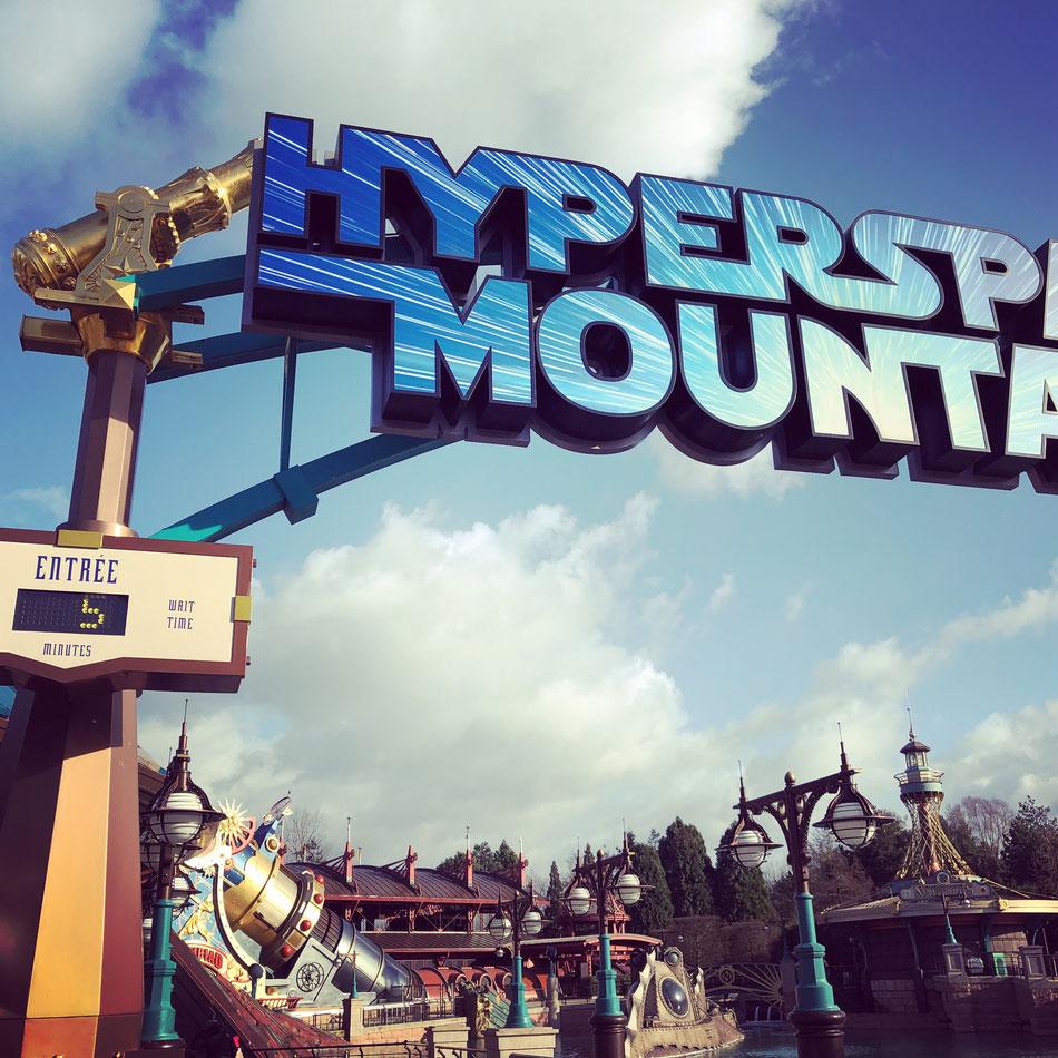 Hyperspace Mountain im Disneyland Paris mit nur 5 Minuten Wartezeit!