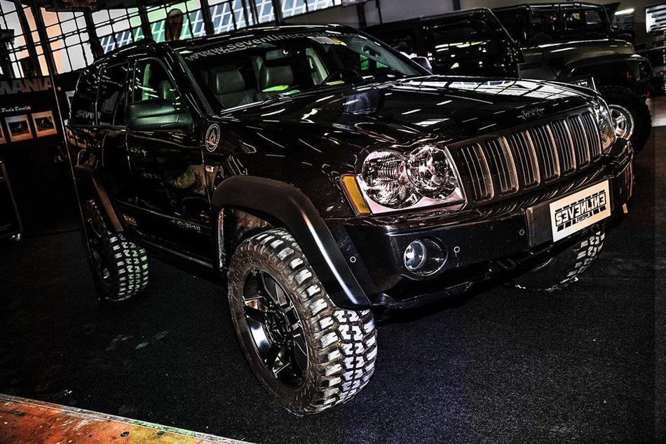 Parafanghi allargati per Jeep Grand Cherokee WH/WK