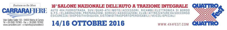 Carrara 4x4 Fest 2016