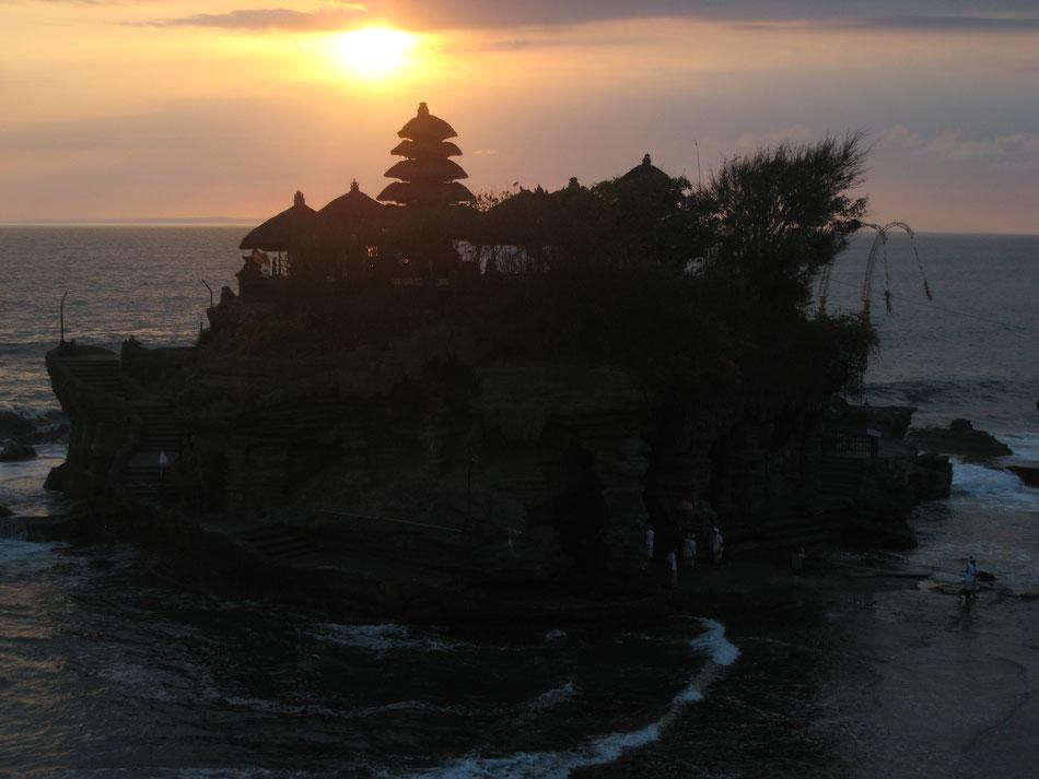 Thana Lot (Meerestempel) Bali, Abendstimmung und innerer Frieden