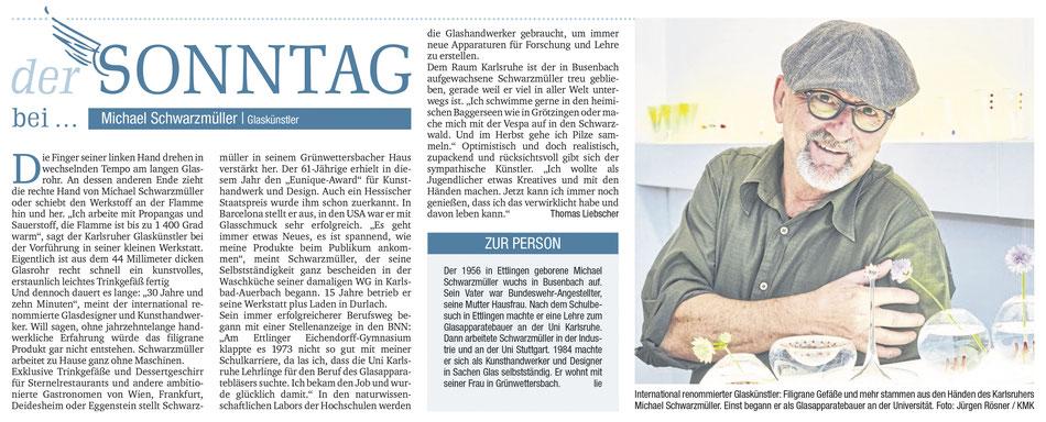 BNN / Der Sonntag  Juli 2017.... Thomas Liebscher