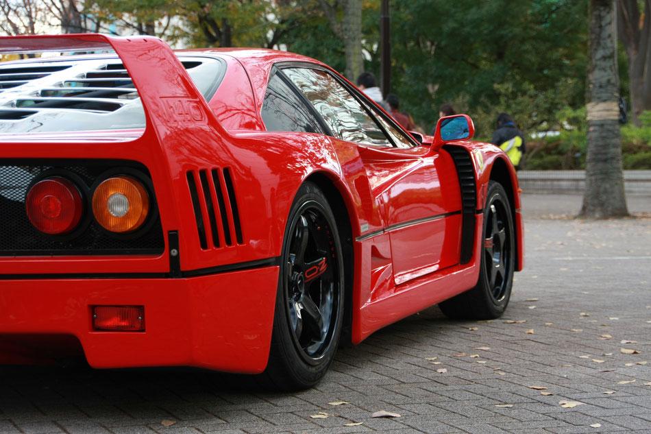 フェラーリF40 代々木公園 シブヤスポーツカーフェス