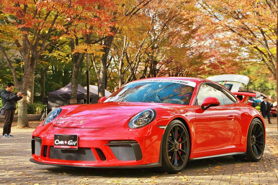 ポルシェ991GT3RS シブヤスポーツカーフェス 代々木公園 渋谷