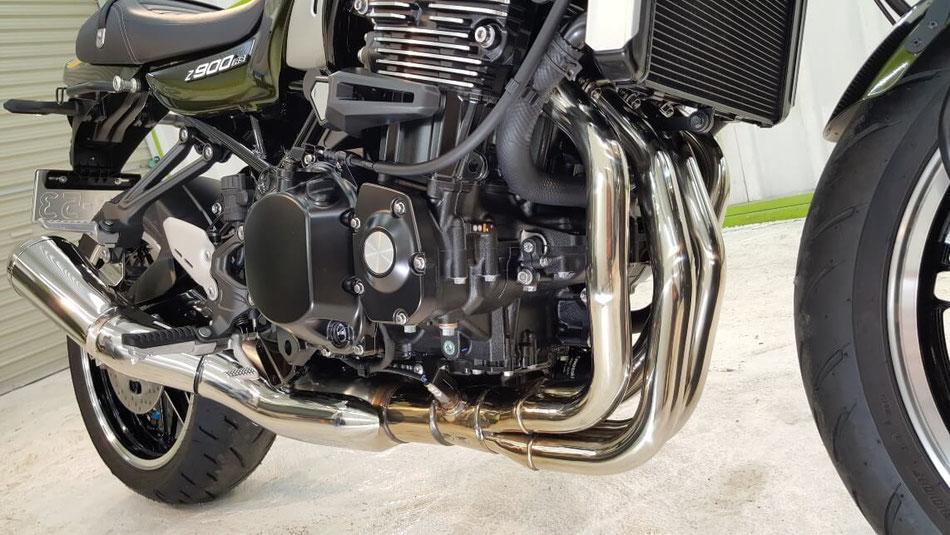 Z900RS エンジン・エキパイ・フレーム セラミックコーティング