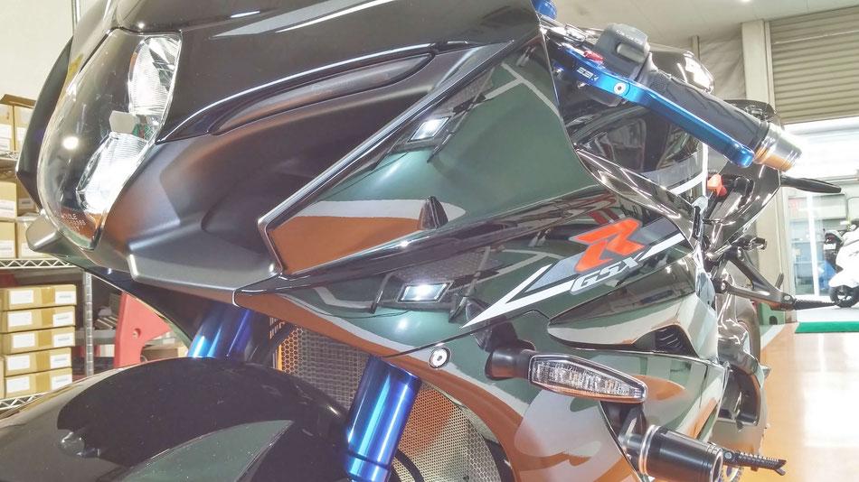R1000Rのコーティング後 埼玉のバイク磨き専門店